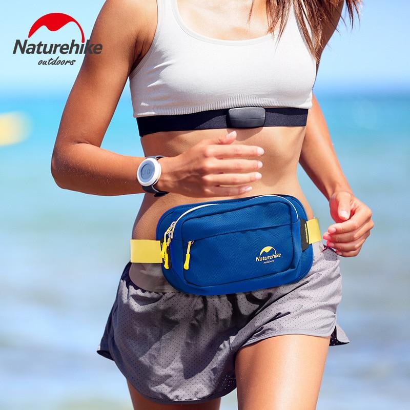 Marca naturehike al aire libre deportes caminar correr ciclismo bolsa de mujeres