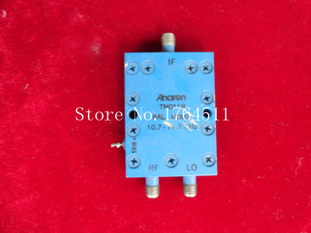 [BELLA] ANAREN 7N0118 RF/LO:10.7-11.7GHz SMA RF Coaxial High Frequency Mixer