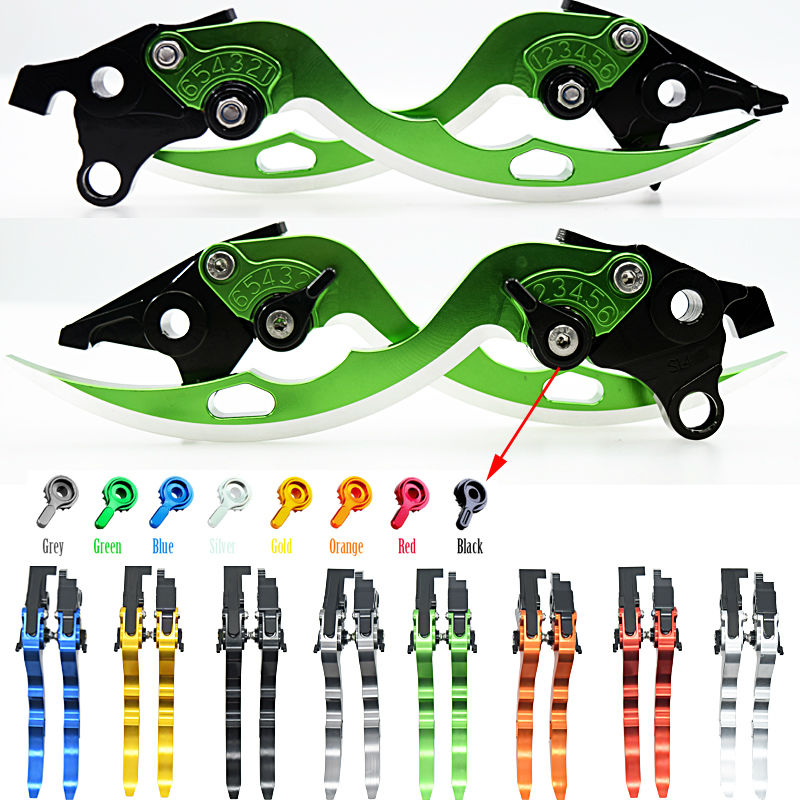 ФОТО For DUCATI MONSTER M400 99-03 M600 94-01 M620 02 M750/M750IE 94-02 M900 94-99 Motorcycle Adjustable Blade Brake Clutch Levers