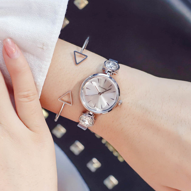 Ladies design watches luxury diamond women bracelet watch 2018 ulzzang brand ful