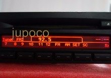 PÓS LIVRE Original Display LCD para RÁDIO CD73 PROFISSIONAL CD PLAYER E90 E91 E92 PIXEL