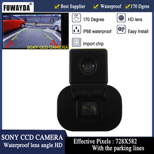 FUWAYDA SONY CCD CAR REAR VIEW CAMERA MIRROR IMAGE FOR KIA FORTE/Hyundai Verna/Hyundai Solaris Sedan Con Linea Guida HD