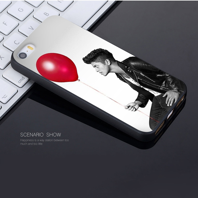 MaiYaCa Popular star Bruno Mars Coque Shell Phone Case for Apple iPhone 8 7 6 6S Plus X 5 5S SE 5C Cover