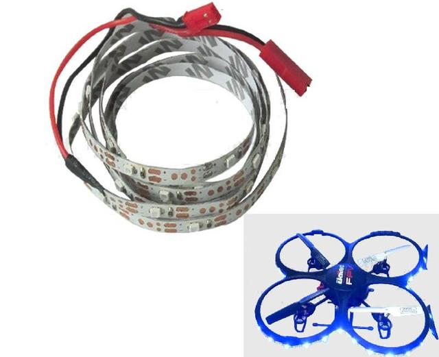 Ewellsold U819A U818A .4G 4ch 6 Axis RC Quadcopter RC drone parts LED light kits set free shipping