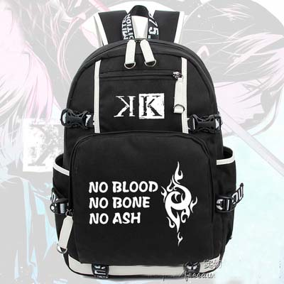 Anime K Suoh Mikoto Backpack Cosplay Canvas Bag Luminous Schoolbag Travel Bags Preppy StyleAnime K Suoh Mikoto Backpack Cosplay Canvas Bag Luminous Schoolbag Travel Bags Preppy Style