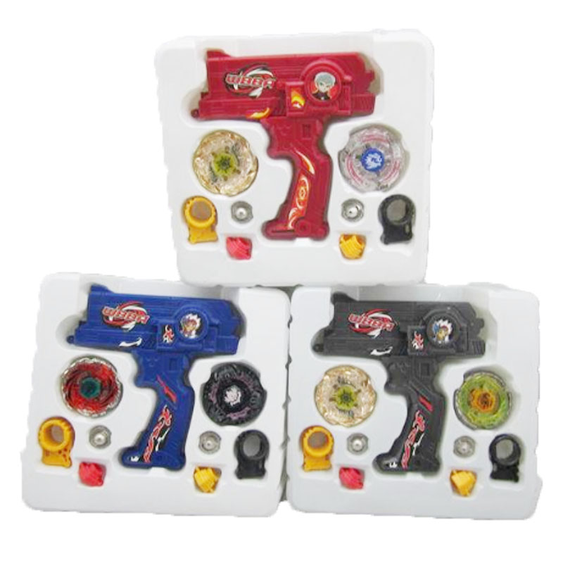Beyblade launchers Alloy metal fusion fury masters gun toys set 2017 New Beyblade pegasus arena nemesis spinner oyuncak gift toy tri fidget hand spinner triangle metal finger focus toy adhd autism kids adult toys finger spinner toys gags