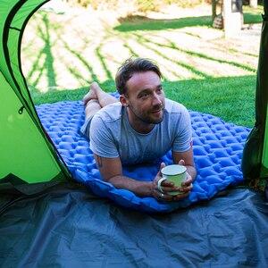 Image 4 - Naturehike легкий влагостойкий воздушный матрас, нейлоновый ТПУ коврик для сна, надувной матрас, коврик для кемпинга для 2 человек, от 2 до 8 лет