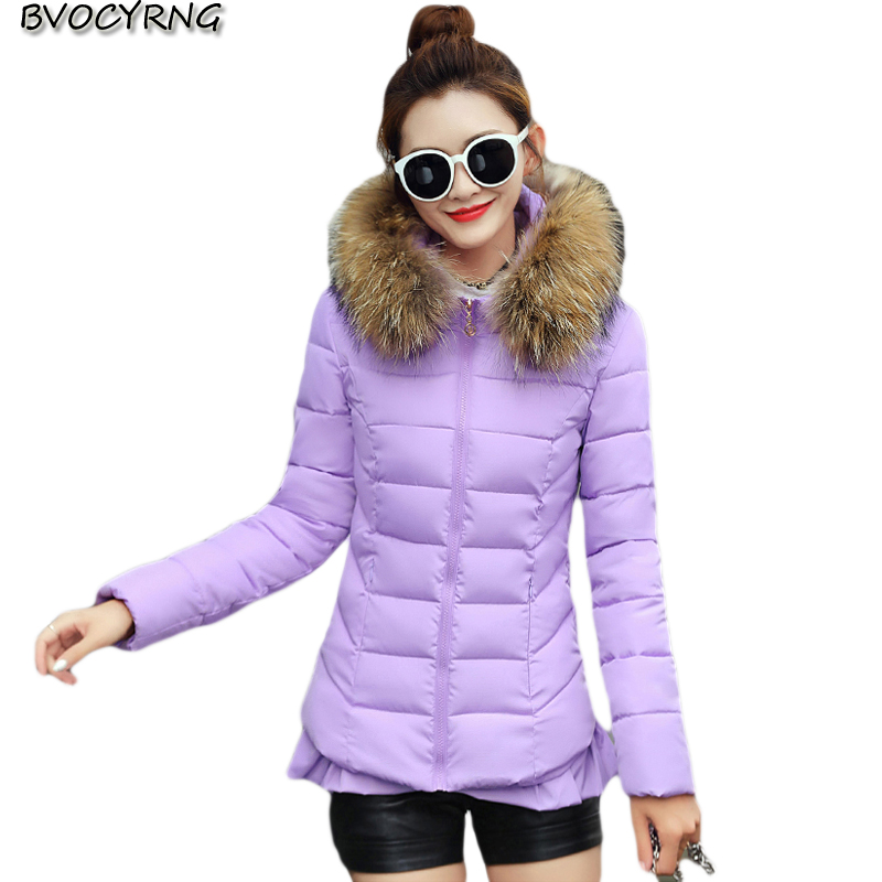 2017Cotton-padded women Short Jacket Warm Coat Autumn Winter Hooded Outerwear High Quality Big Yards Girls Jacket Parka Q719 2017 winter jacket women hoodie loose parka thick warm thicken outerwear coat short cotton padded autumn basic jacket m 2xl