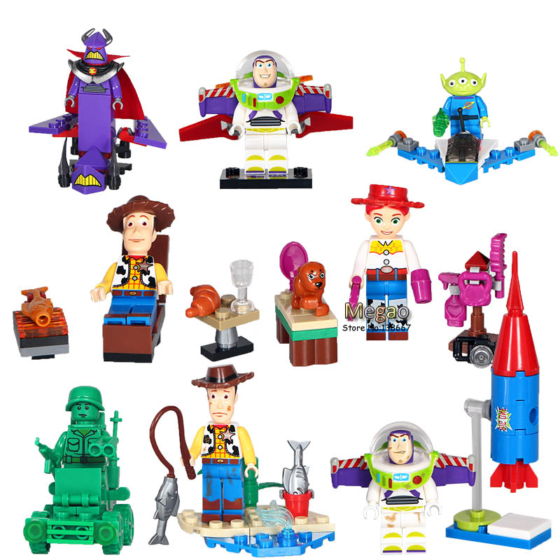2017 new toy story 10lots of sy661 buzz light year woody - Lego toys story ...