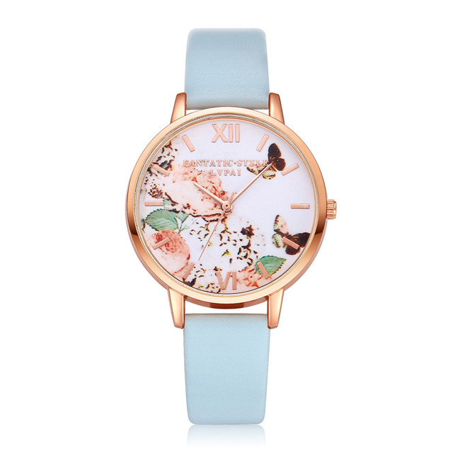 Watch women watches Fashion 2018 Luxury Crystal LVPAI Watches Women Quartz Wrist