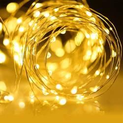USB 5 v Праздничная гирлянда на батареи светодиодный декоративная светящаяся гирлянда Рождество открытый гирлянда slingers занавес мишура