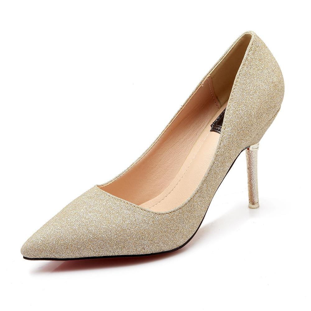 Popular Silver Womens Heels-Buy Cheap Silver Womens Heels lots ...