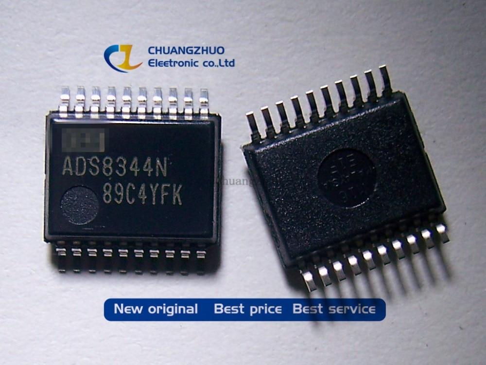 New Original ADS8344 ADS8344N ADS8344NB  ADC 16BIT SAR 20SSOP