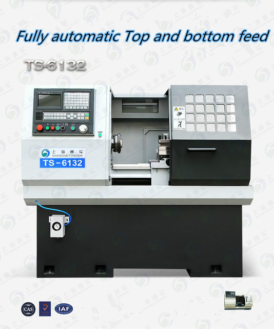 US $8300 0 |Micro precision CNC machine tool equipment manufacturers  produce small latheCK6132 automatic numerical control instrument lathe -in