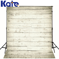 Newborn Backdrops White Floor Wood Wall Photo Background For Photography Studio Baby Family Kate Picture Image