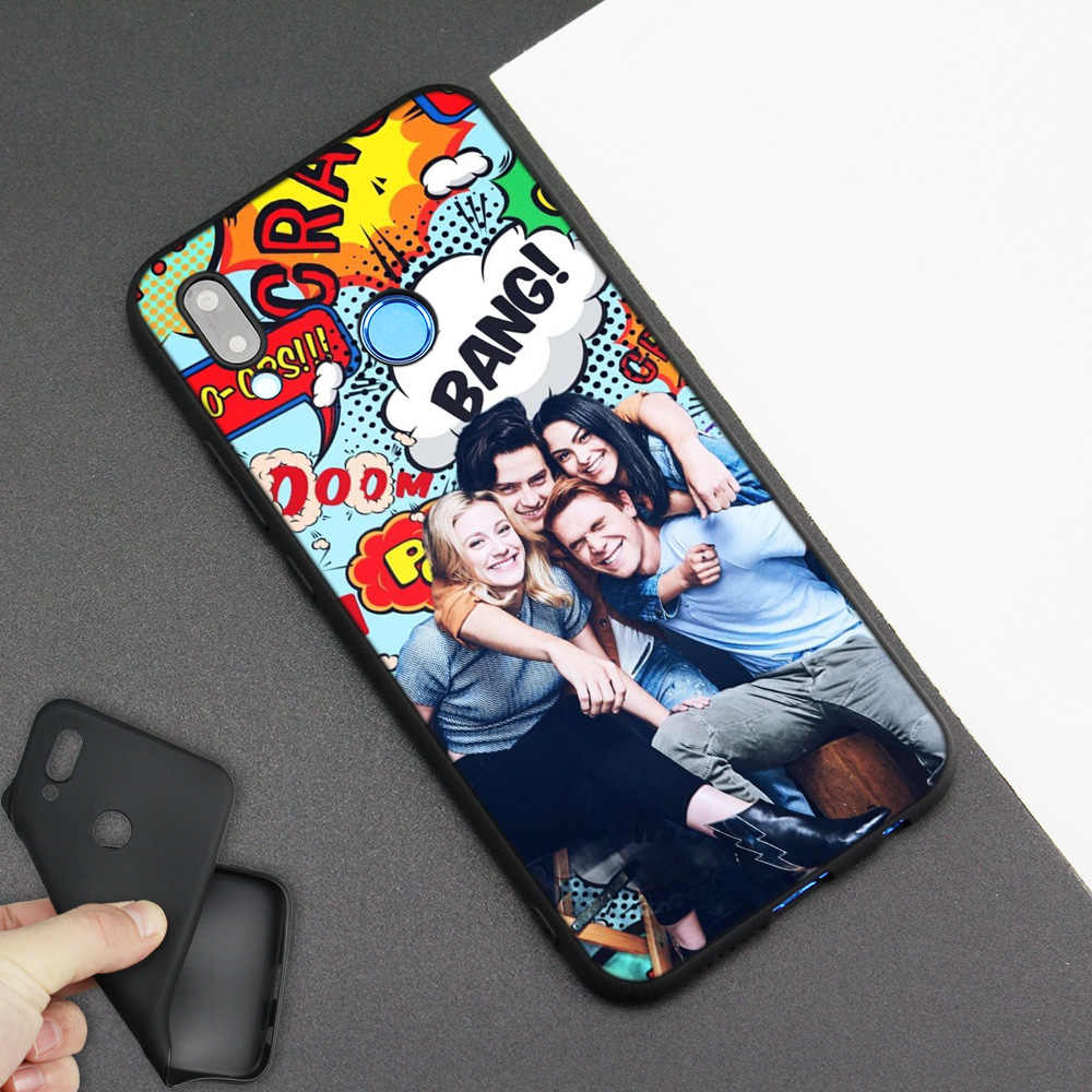 Silicone Case Cover for Huawei P20 P10 P9 P8 Lite Pro 2017 P Smart+ 2019 Nova 3i 3E Phone Cases American TV Riverdale