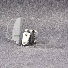 Мотоцикл Универсальный Risen лобовое стекло ветер экран Кронштейн Набор экран протектор регулировка с замком для BMW R1200GS F800GS