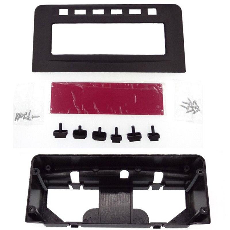 For Mitsubishi Pajero Sport Triton L200 MID Radio DVD Middle Stereo Panel Dash Mounting Installation Trim Kit Face Frame Fascia
