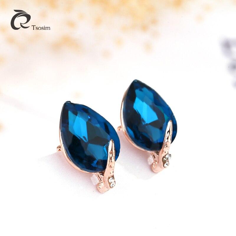 Ear clip earrings jewelry for woman girl drop pendant earrings for no hole ear clip earring female no pin wearing punk wholesale in Clip Earrings from Jewelry Accessories