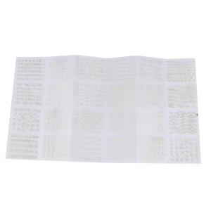 Image 5 - 24 גיליונות/חבילת זהב צבע מסמר אמנות 3D מדבקות DIY מדבקות רהוט אלפבית אנגלית מכתבי עיצוב נייל מדבקה נשים אופנה