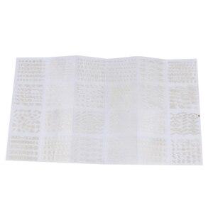 Image 5 - 24 листа/упаковка, наклейки золотого цвета для дизайна ногтей, 3D наклейки для самостоятельного изготовления, наклейки с алфавитом и английскими буквами, модные наклейки для ногтей для женщин