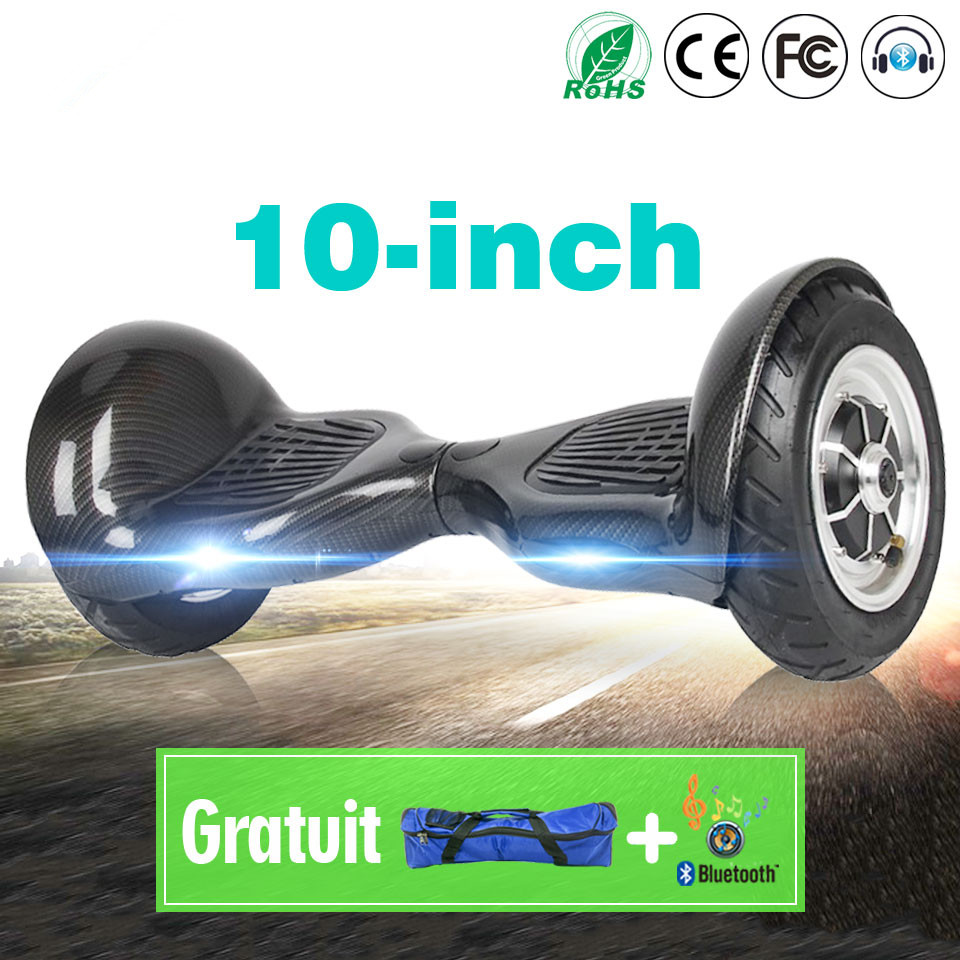 All Terrain Hoverboard 10 Inch E Scooter Electric Skateboard Hawerboard Smart Balance <font><b>Board</b></font> Overboard Hover <font><b>Board</b></font> <font><b>Hower</b></font> <font><b>Board</b></font> image