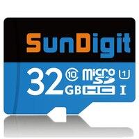 SunDigit Marke Ursprünglichen Micro sd-karte 32 GB Reale Kapazität SDHC Class10 UHS-I High Speed speicherkarte Trans Flash 32 GB tf karte