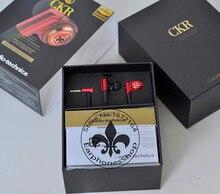 New Original ATH-CKR9LTD CKR9 13mm Double Pilote Dynamique Isolation Du Bruit Premuim Solide Basse Stéréo Musique Écouteurs Écouteurs Écouteur