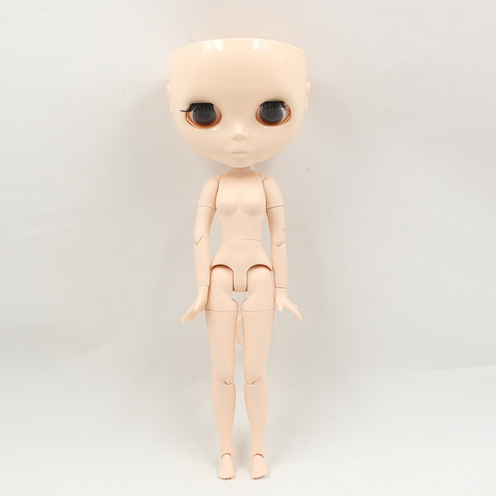 Neo Blythe Doll Without Scalp Dome Jointed Body 4