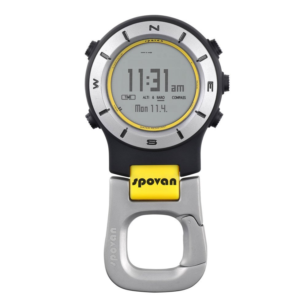 Hot Spovan 3ATM Waterproof Elementum II Multifunction Outdoor Sports Handheld Watch Barometer Altimeter Thermometer Compass S