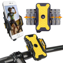 For Samsung Galaxy S7 S6 Edge S5 S4 S3 mini Note 7 5 4 3 2 Universal Bicycle Mobile Phone Holder Bike Mount Stand Support