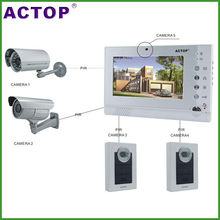 322+210 Direct Factory  Motion Detection 7inch Video Doorbell for CCTV Alarm Function Video Doorbell, CMOS OR CCD Sensor Image