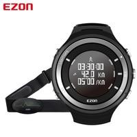 Умные спортивные часы EZON с GPS  пульсометром  шагомером и шагомером  Bluetooth 4 0  для спорта  походов и тренировок  T033