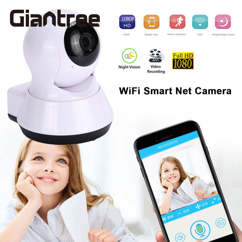 giantree V380 HD 1080P Wifi Camera Phone Remote IP Camera Infrared night vision Office Home Security Surveillance Camera hd night vision home camera wireless wifi mobile phone remote surveillance camera