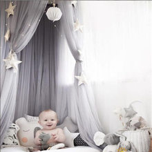 Cotton Baby Canopy Mosquito Net Anti Mosquito Princess Bed Canopy Girls Room Decoration Bed Canopy Pest control Reject Net(China)