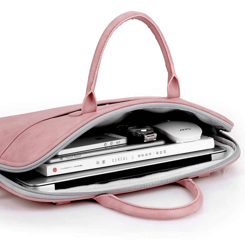 8b62758be293 ... Fashion PU Leather Laptop bags for women 14 15 15.6 17.3 inch for macbook  air 13 ...