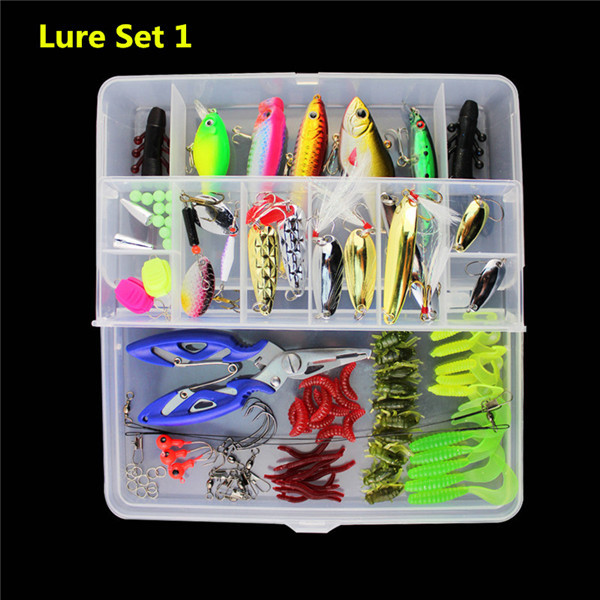 6 X Black White Lures 8cm Trout Fishing Bait Tackle