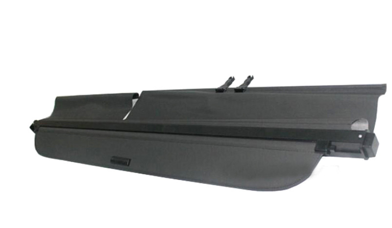 Black Coloor Rear Trunk Parcel Shelf / Cargo Cover For Toyota Landcruiser 200 LC200 2008 2009 2010 2011 car rear trunk security shield shade cargo cover for nissan qashqai 2008 2009 2010 2011 2012 2013 black beige