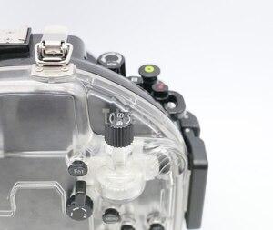 Image 4 - 40M 130ft Waterproof Underwater Diving Camera Housing Case for Olympus O MD E M5 Mark II OMD EM5 II + 12 50 f/3.5 6.3 Lens