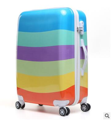 Women Travel Luggage Case Spinner suitcase Men Travel Rolling Case On Wheels 20 24 Inch Lady Travel Wheeled Suitcase trolley bag