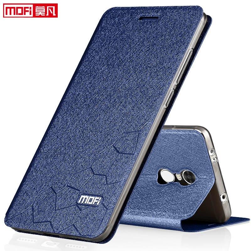 xiaomi redmi note 4 global version case book flip luxury leather silicone funda mofi phone case xiaomi redmi note 4 global cover