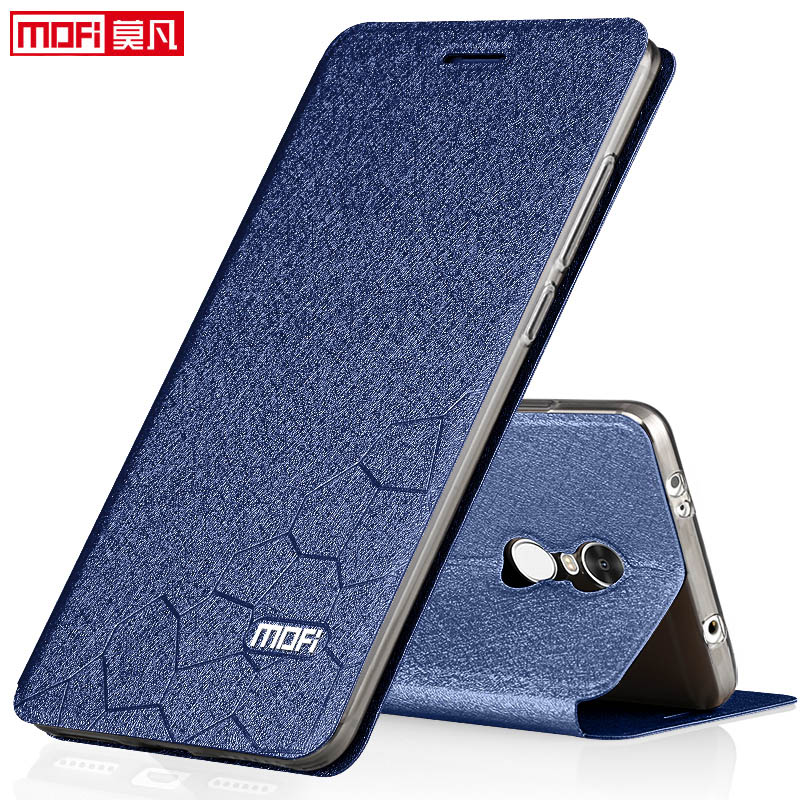 Xiaomi redmi note 4 global version case book flip luxury leather silicone funda mofi phone case - Xiaomi redmi note 4 case ...