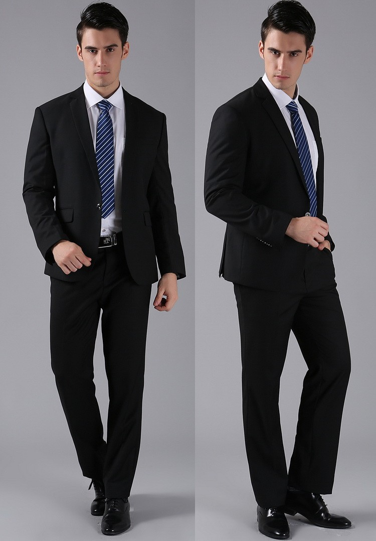 2015 black Men's Wedding Suits for Men's Wedding Dresses