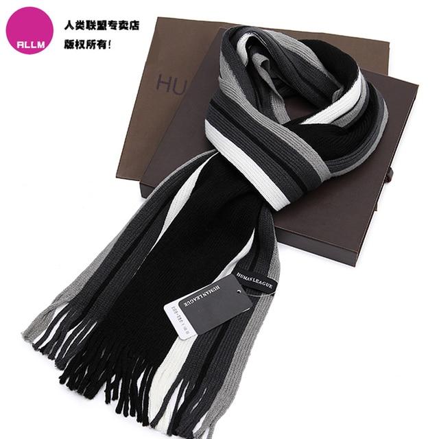 Yarn scarf muffler thermal scarf female and male autumn winter scarf boys female male scarf