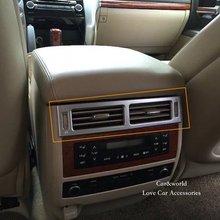 Для Toyota Land Cruiser 200 сзади Кондиционер AC Выход Обложка отделка интерьера панель украшения 2010 до 2016 автомобиля интимные аксессуары