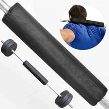 Weightlifting Shoulder Protecter Gym font b Fitness b font Pull Up Griper Equipment Weights Gym Pads
