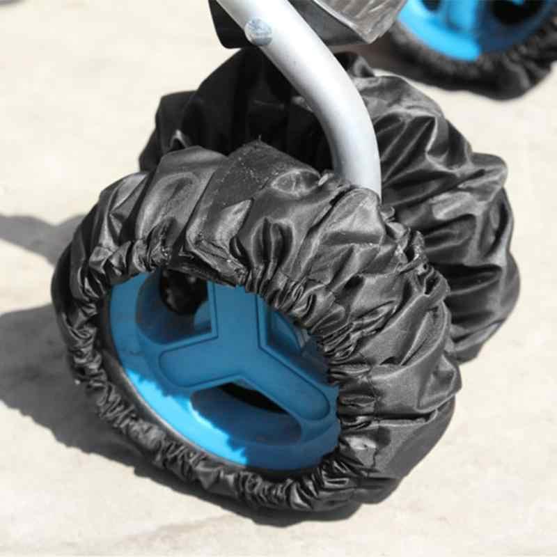 1 unidad de cubierta para cochecito de bebé cubierta para cochecito y accesorios cochecito de bebé manija Bumble Bar Grip cubierta de la rueda Anti polvo