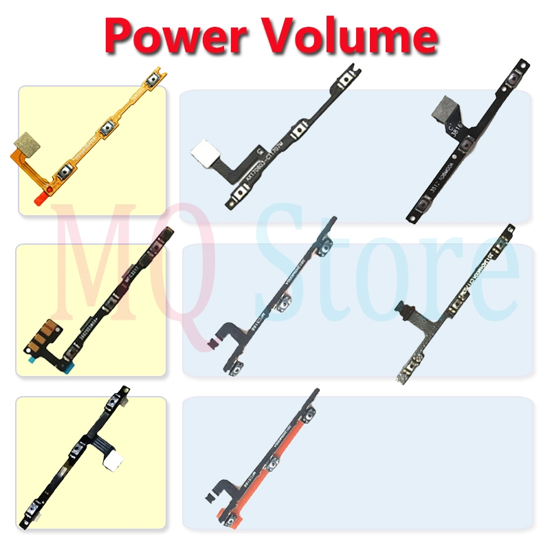 For Xiaomi Note 2 3 Max Mix Mi 1 2 Pro Power Flex Power Volume On Off Video Up Down Button Flex Cable Mobile Phone Repair Parts