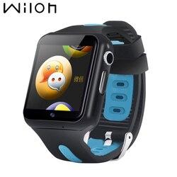 Новые смарт-часы мужские водонепроницаемые IP67 3g Wifi женские часы спортивные фитнес-трекер металлический корпус камера позиционирование мон...