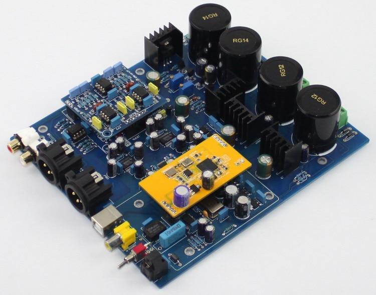 0c613687ff36 amplifier board using DSD1796 NE5532 USB + Fiber + Coaxial Decoder DAC board